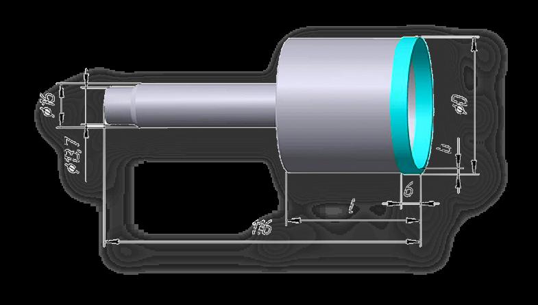 свёрла для стекла со ступенчатым хвостовиком для станков с чпу